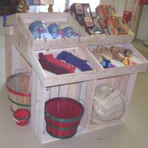 Wooden Store Displays