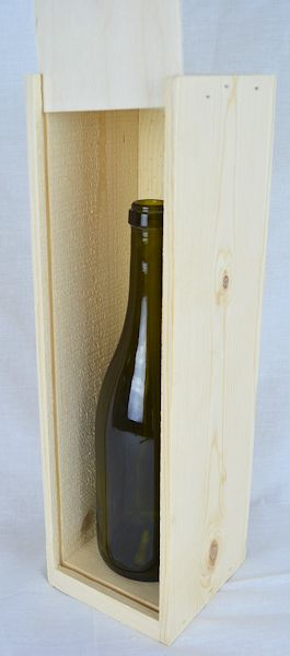 Wholesale Larger Champagne Single Bottle Box