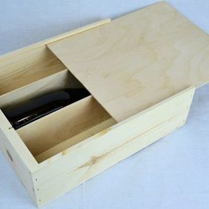 Wholesale Wooden Three Bottle Large Wine Box