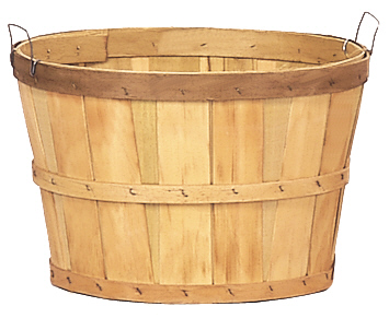 wire handle one bushel baskets