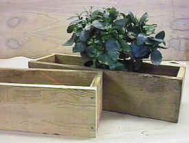 wholesale wooden 30 inch cedar planter