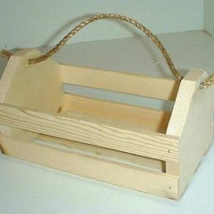 Wooden Tote Crates
