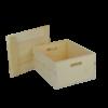 wooden box drop top
