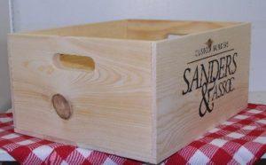 nostalgic wood box