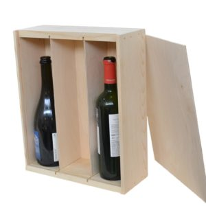 3 bottle wine box