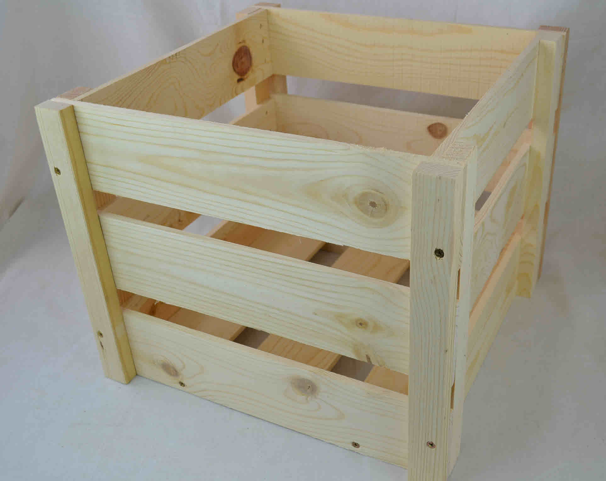 WHOLESALE WOODEN CRATES KNOCKDOWN STYLE (Qty. 12) | Poole & Sons, Inc.