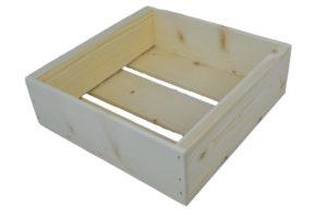 wooden box 9x9