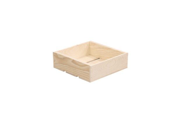 wooden box 12x12x4