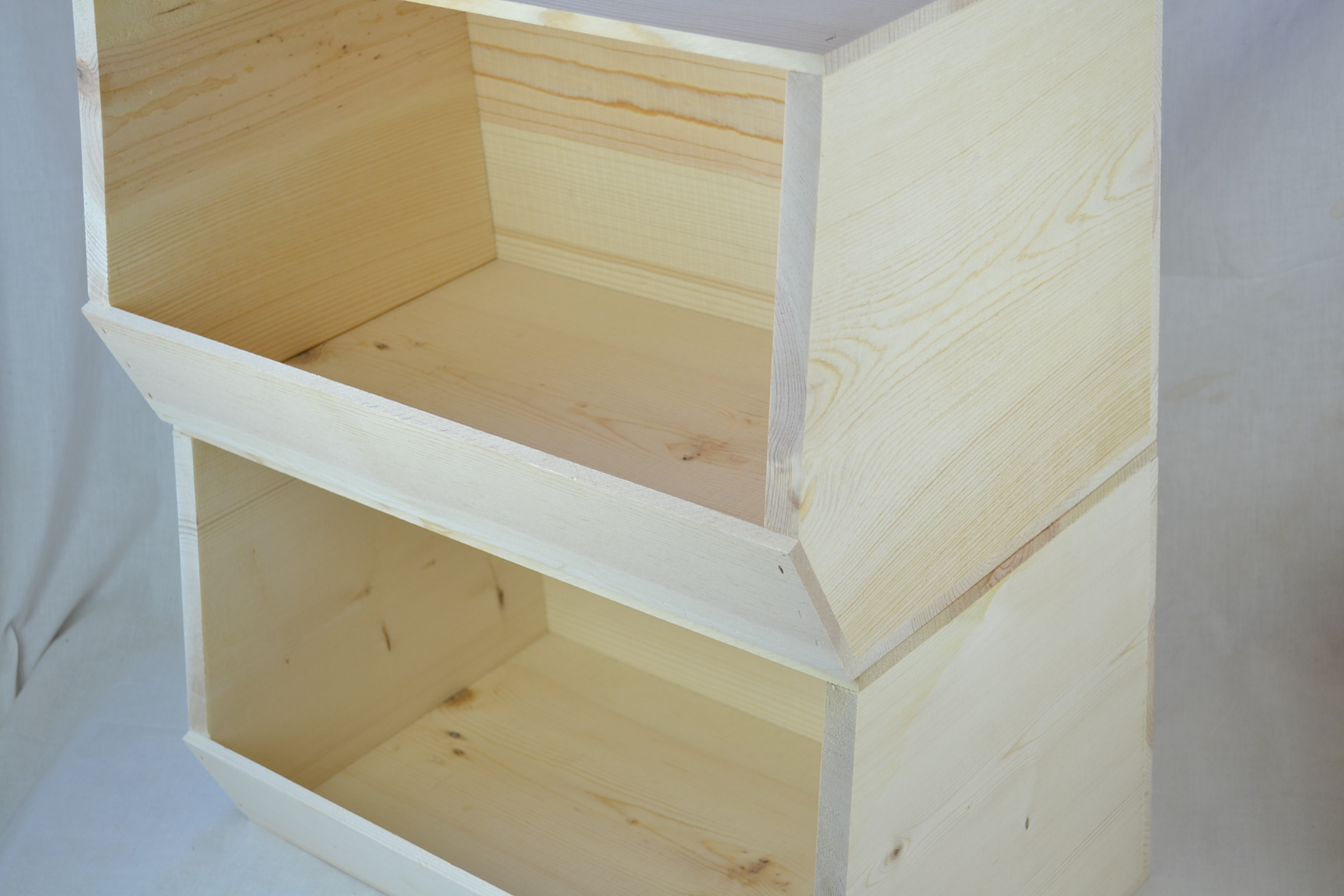 Wooden Stackable Storage Bin Free Shipping On This Item & Stackable Wood Storage Bins - Listitdallas