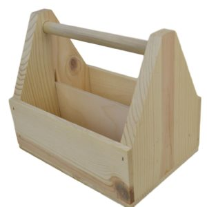wooden condiment carrier