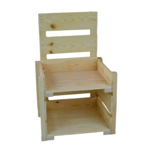 wooden counter top display 2-tier