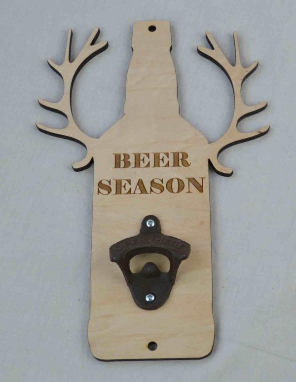wall mount bottle opener beer season