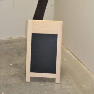 Wooden A-frame Chalkboard