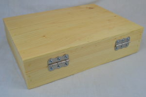 wooden pistol box back