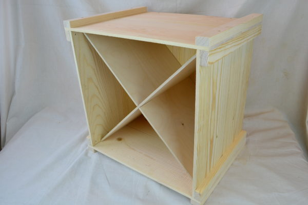wooden wine storage box