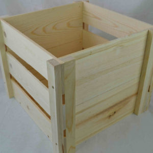 wholesale wooden lp record storage crate