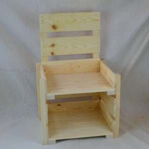 Wooden Countertop Display 2-Tier