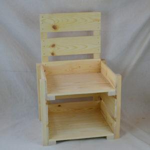 Wooden Countertop Display 2-Tier