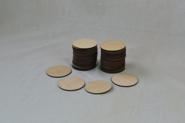 Wooden Beverage Coasters