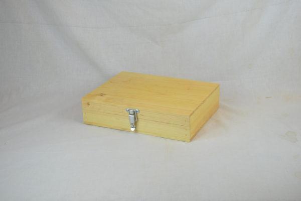 wooden pistol box