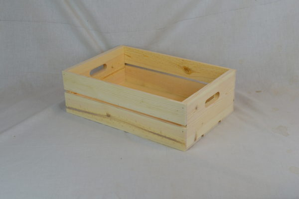 wholesale wooden hand hole crates