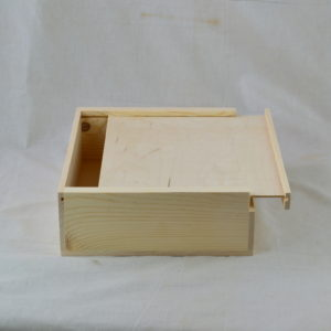 wholesale wooden slat pull box
