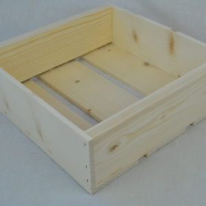 wholesale wooden box 9x9x3