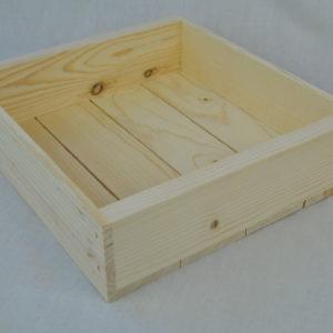 wooden box 11x10x3