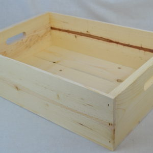 wholesale old fashioned wooden lug box