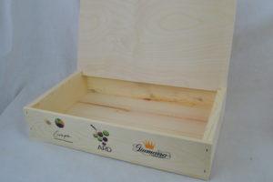 wholesale wooden reader board counter top shelf displsy lid up