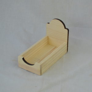 Wooden Reader Board POP Shelf Display
