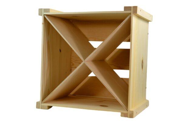 wooden wine storage box